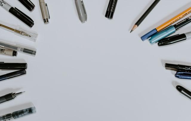 Het kiezen van de juiste pen